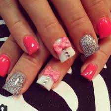 50 cute bow nail designs nail nail makeup and fun nails