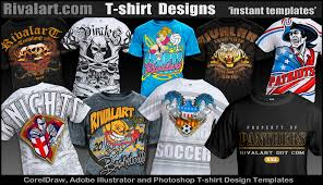 rivalart sports clipart mascot clipart and t shirt designs