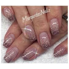 best 25 pink glitter nails ideas on pinterest acrylic nails