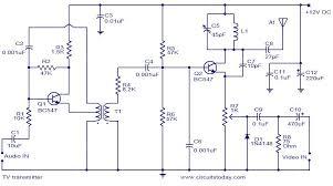cctv camera jammer circuit diagram circuit and schematics diagram