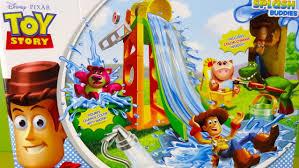 toy story colour slide surprise playground color splash