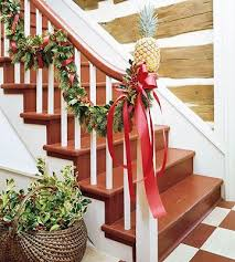 How To Decorate A Banister 97 Best Banister U0026 Stairstep Decor Images On Pinterest Christmas