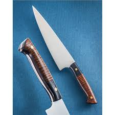 custom kitchen knives buy one of a handcrafted 9 chef s knife sold at