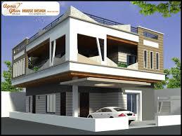 front elevation modern house trends including duplex designs