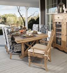 kincaid dining room kincaid furniture homecoming 7 piece dining set with farmhouse leg