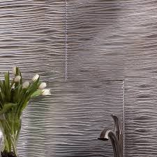 Fasade Backsplash Panels Reviews by Fasade Waves 18 25