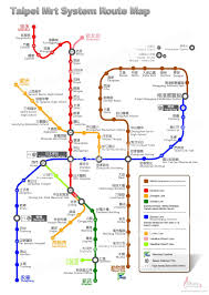 Montreal Metro Map Taipei Subway Map Taipei Pinterest Subway Map And Taiwan