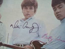 dino desi and billy lp signed autograph our time u0027s coming