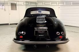 1955 porsche 356 speedster black restored sloan cars