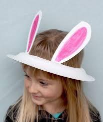easter bunny hat paper plate easter bunny hat etkinlikler bunny hat