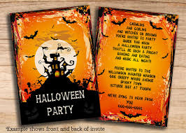 halloween party poem invite halloween invitations stationary 8 spooky printables for halloween