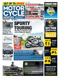 motorcycle monthly october 2017 by mortons media group ltd issuu