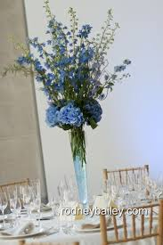 Blue Vases For Wedding Best 25 Trumpet Vase Centerpiece Ideas On Pinterest Tall Vases