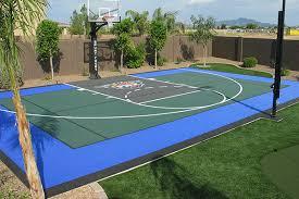 basketball courts with lights near me backyard basketball courts for phoenix scottsdale tucson arizona