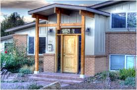 split level front porch designs bi level entryway ideas lr opens up with glass rails remove wall