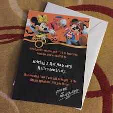 mickey u0027s not so scary halloween party 2014 creative in color