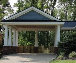 Attached Carport Plans Carport Designs Virginia Tradition Builders Offers Full Service