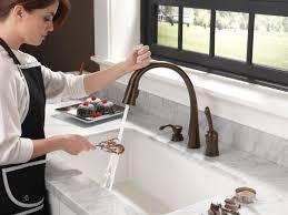 100 delta pilar kitchen faucet winning delta bronze kitchen