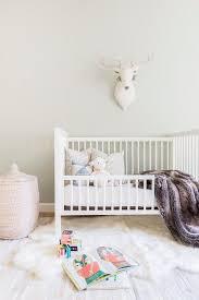 alyssa rosenheck pink woven hamper with white convertible crib