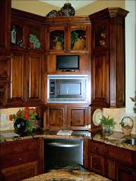 Microwave Inside Cabinet Kitchen Microwave Cabinet Home Living Room Ideas