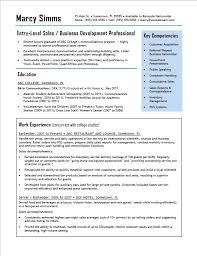 entry level sales resume 5 free sales resume samples u2013 my template collection