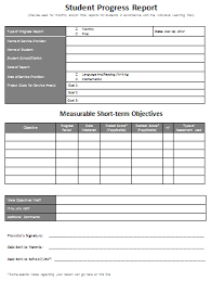 academic progress report template 5 professional report templates office templates