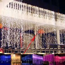 wedding backdrop lights aliexpress buy waterfall outdoor 6m x 3m 600 led fairy