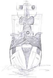sea ship sketch stock photo image 12368180
