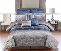 9 piece cal king mariana embroidered comforter set