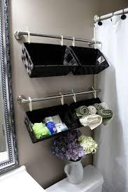 diy wall full of baskets bathroom storage idea diy craft projects