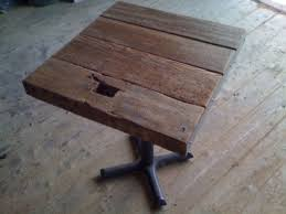 Reclaimed Wood Bistro Table 11 Best Tables Images On Pinterest Cafe Tables Cafe Restaurant