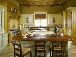 Clive Christian Kitchen In Antique French Oak  Cream - Clive christian kitchen cabinets