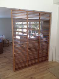 White Room Divider Screen White Oak Room Divider Screen Wood Furniture Cabinetry And
