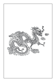 chinese dragon coloring pages easy coloring pages chinese dragon coloring pages head sheet chinese