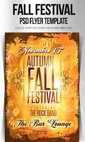 fall festival thanksgiving flyer template thanksgiving