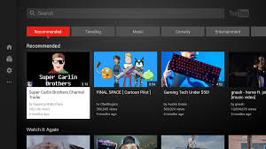 major update to the youtube app for android tv google product forums