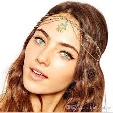 fashion wedding bridal hair accessories 2016 metal beaded pearl