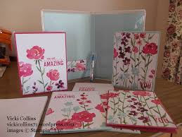 painted cards for sale stin up painted blooms card set vicki collins crafty creations