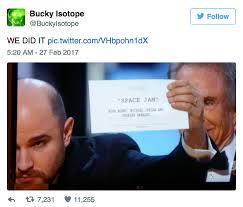 Oscars Meme - monumental oscars mistake becomes the perfect meme ccuk