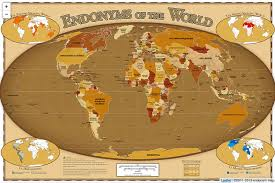 world map with country names image endonym maps labels countries with their local names