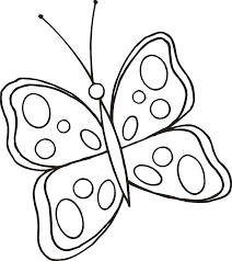butterfly to color free coloring pages on art coloring pages