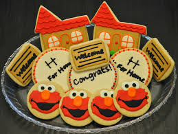 housewarming cookies elmo housewarming cookies sweet elizabeth