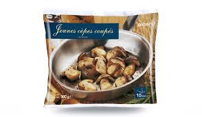 cuisiner les cepes jeunes cèpes coupés surgelés les légumes picard
