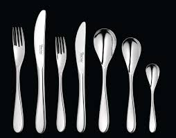 welch comet bright 56 piece cutlery set for 8 people