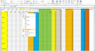 How Do You Do Excel Spreadsheets How To Set Up Excel Spreadsheet For Address Labels Spreadsheets
