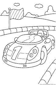 10 race car images race cars coloring sheets