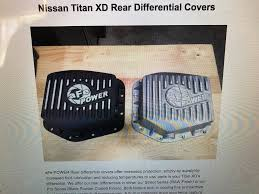 nissan titan lug pattern quick drain differential cover nissan titan xd forum