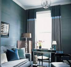 Blue And Grey Curtains Blue And Gray Living Room Curtains Centerfieldbar Com