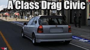 pontiac aztek ricer a class drag civic forza 6 youtube