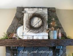 Rustic Mantel Decor Rustic Home Decor Ideas Refresh Restyle